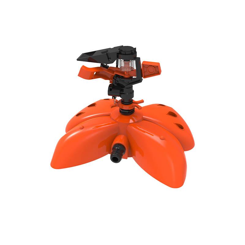 TS1042 带有塑料蝶形底座的塑料喷头