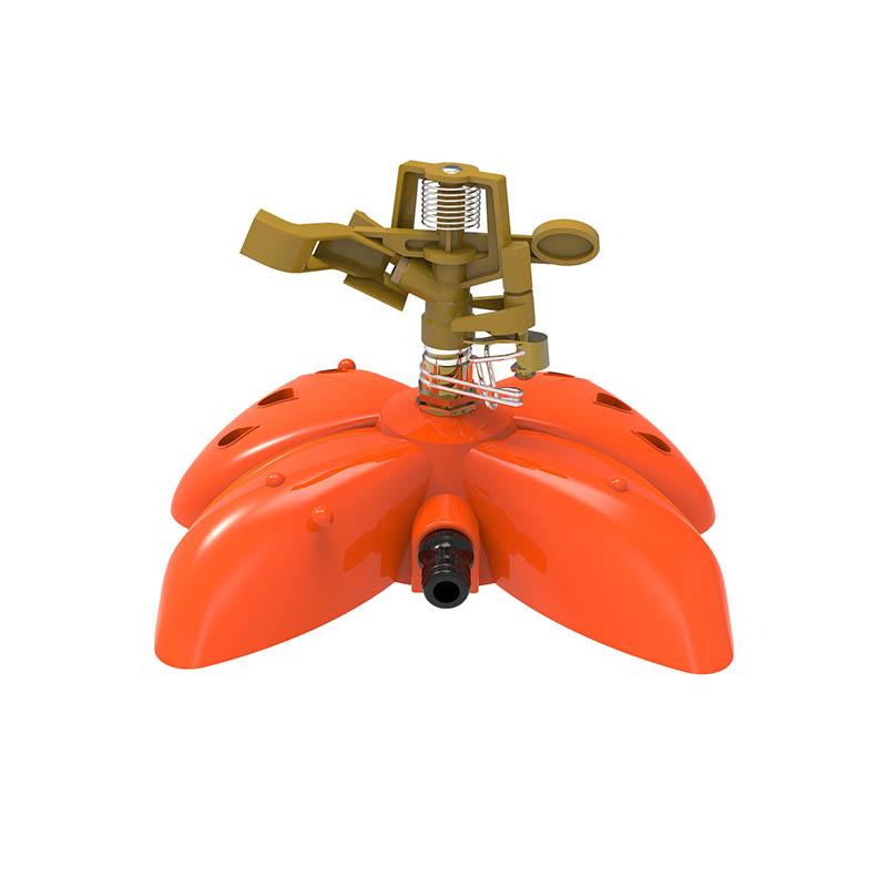 TS1043 带塑料蝴蝶形底座的金属洒水器